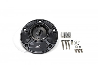 "VALTER MOTO QUICK RELEASE FUEL FILLER CAP ""1/2 TURN"" ALL YAMAHAS image"