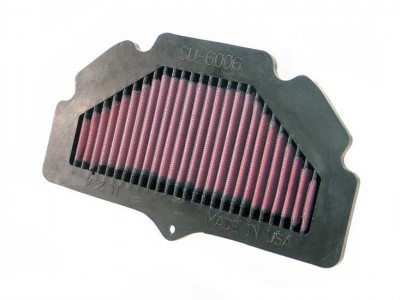 K&N AIR FILTER SUZUKI GSR600/ GSR750 2006 ON image