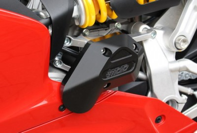 1 PAIR GSG PROTECTORS, DUCATI 959 PANAGALE 2016 ON, SOME PANEL MODS REQUIRED image