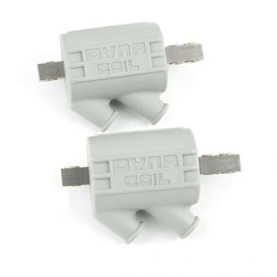 1 PAIR DYNA HT COILS 2.2ohm DUAL 2 POLE (GREY) image