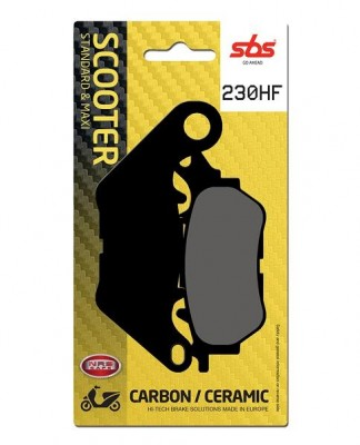 1 SET SBS CERAMIC FRONT BRAKE PADS image