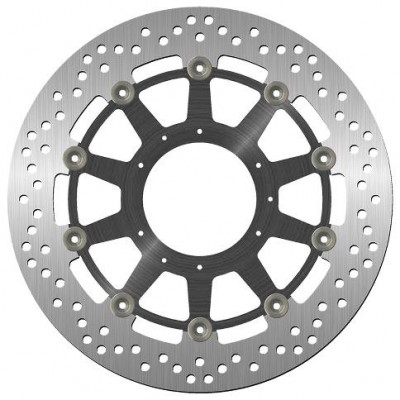 1 SBS STANDARD FRONT BRAKE DISC, CB1000R ABS 08-16 O:, I:, C:, NH:5, H:(/)MH image