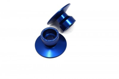 VALTER MOTO STAND SUPPORT STREET (/) 22mm IN BLUE USE WITH SSA## image