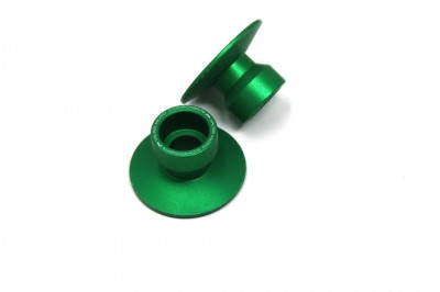 VALTER MOTO STAND SUPPORT STREET (/) 22mm IN GREEN USE WITH SSA## image