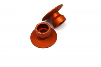 VALTER MOTO STAND SUPPORT STREET (/) 22mm IN ORANGE USE WITH SSA## image