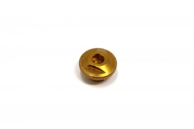 VALTER MOTO EXTREME OIL FILLERCAP IN GOLD FOR HONDA image