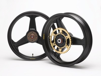 "1 PAIR DYMAG CLASSIC ""H"" 3 SPOKE WHEELS, PLEASE CALL TO DISCUSS image"