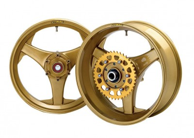 1 PAIR DYMAG TT 3 SPOKE CAST MAG PAIR OF WHEELS, PLEASE CALL TO DISCUSS image