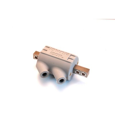 1 PAIR DYNA HT COILS 2.2ohm DUAL 2 POLE (GREY) SINGLE COILI.E. HALF A SET image