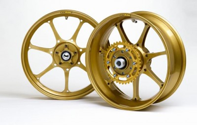 1 PAIR DYMAG ULTRA PRO 7 x SPOKE FORGED WHEELS, PLEASE CALL TO DISCUSS image