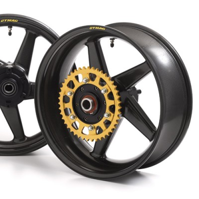 DYMAG CA5 HUB UPGRADE GOLD ANODISED (PER WHEEL PAIR) image