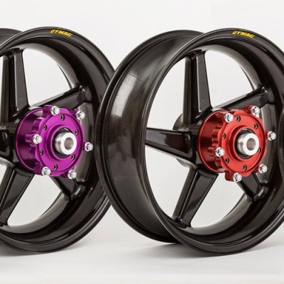 DYMAG CA5 HUB UPGRADE VIOLET ANODISED (PER WHEEL PAIR) image