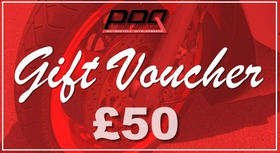 PDQ GIFT VOUCHER £50 - CAN ONLY BE USED IN STORE image