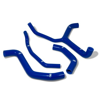 SAMCO SILICONE HOSE KIT KAWASAKI ZX10-R 2016-19 2016 RACE KIT STYLE IN BLUE image