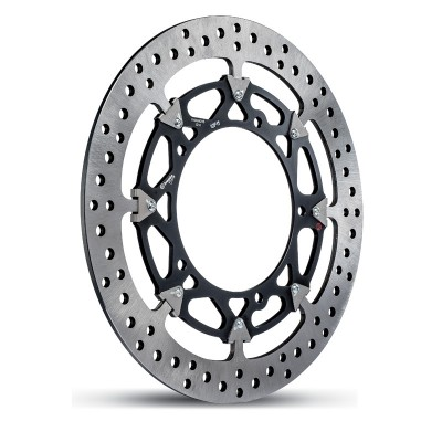 1 PAIR BREMBO HPK T-DRIVE DISCS YAMAHA R1 2004-15 image