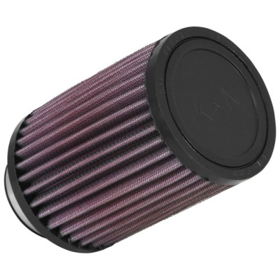 K&N UNIVERSAL CLAMP ON FILTER 52MM ROUND STRAIGHT image