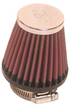 K&N UNIVERSAL CLAMP-ON FILTER CONICAL 48MM image