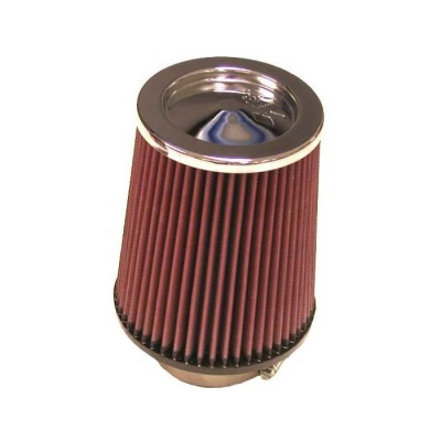 K&N UNIVERSAL CHROME CLAMP ON FILTER image