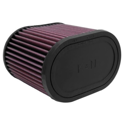 K&N UNIVERSAL OVAL CLAMP-ON FILTER 70MM image