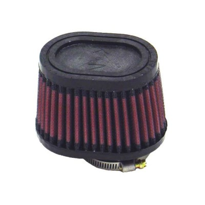 "K&N UNIVERSAL CLAMP-ON FILTER 1-3/4""FLG O/S, 4"" X 3""B, 3"" X2""T, 2-3/4""H, OVAL image"
