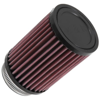 K&N UNIVERSAL ROUND CLAMP-ON FILTER 63MM (CCM CLAMP ON - REQUIRES ADAPTER TO BE MADE) image