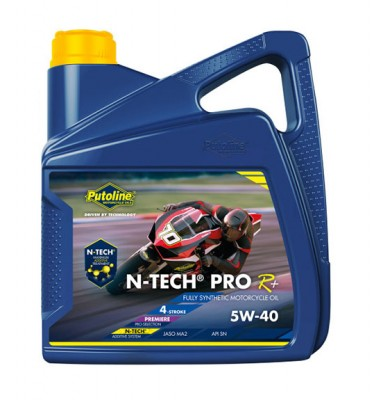 PUTOLINE 4 LITRE N-TECH PRO R+5W/40 OIL 100% SYNTHETIC JASO MA2, API SM. image