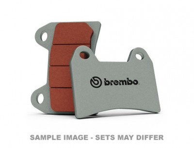 BREMBO SC TRACK SINTERED PADS AS FOUND IN 20.8343. (SOLD PER CALIPER) image