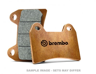 BREMBO REAR BRAKE PADS RSV1000 97-01, 999, 1098 (SOLD PER CALIPER) image