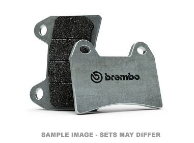 BREMBO RC CARBON CERAMIC FRONT BRAKE PADS (SOLD PER CALIPER) image