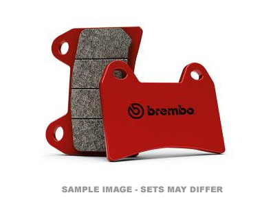 BREMBO SP SINTERED REAR PAD CBR600RR 07, CBR1000RR 06, (SOLD PER CALIPER) image