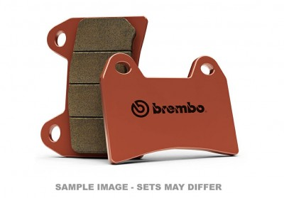 BREMBO SINTERED ROAD REAR BRAKE PADS, (SOLD PER CALIPER) image