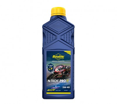 PUTOLINE 1 LITRE N-TECH PRO R+5W/40 OIL 100% SYNTHETIC JASO MA2, API SM. image