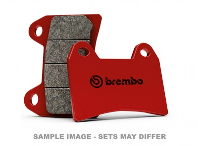 BREMBO SINTERED FRONT BRAKE PADS, (SOLD PER CALIPER) image