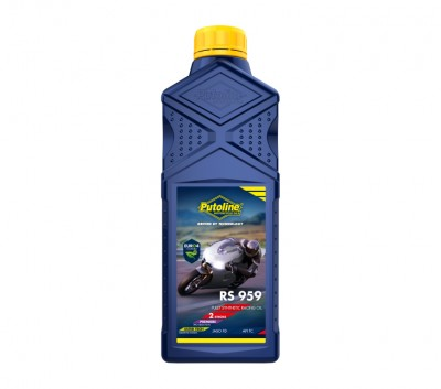 PUTOLINE RS 959 2 STROKE RACE 100% SYNTHETIC OIL 1 LITRE LITRE image