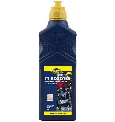 PUTOLINE TT SCOOTER 2 STROKE SYNTHETIC OIL 1 LITRE image