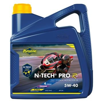 PUTOLINE 20 LITRE N-TECH PRO R05W/40 OIL 100% SYNTHETIC JASO MA2, API SM.  (74341) image