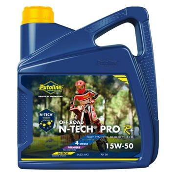 PUTOLINE 20 LITRE N-TECH PRO R15W/50 OIL 100% SYNTHETIC JASO MA2, API SM.  (74326) image