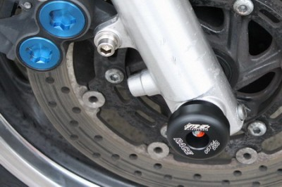 1 PAIR GSG FRONT AXLE SLIDERS,YAHAMA XJR1300 1998-11 image