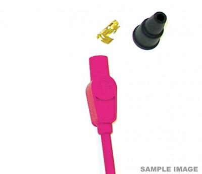 TAYLOR 8MM HT LEAD PINK, SHORT STRAIGHT BOOT TYPE, PRICED INDIVIDUALLY image