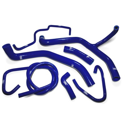 SAMCO SILICONE HOSE KIT BLUE TRIUMPH TIGER 800 XR/XC 2015-17   7 PIECE KIT image