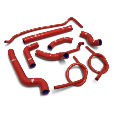 SAMCO SILICONE HOSE KIT RED DUCATI 939 SUPERSPORT/S 2017-20  9 PIECE KIT image